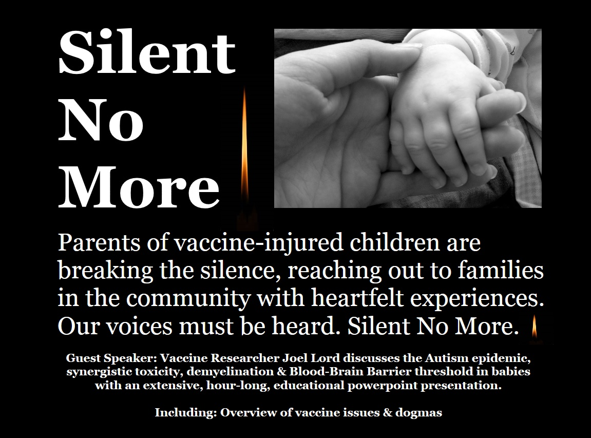 Silent No More Project - DVD cover page