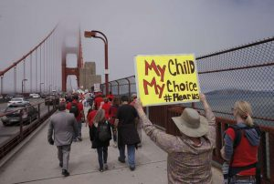 SB277 Golden Gate March
