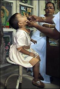 oral polio drops