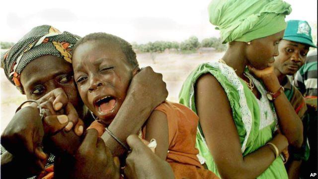 Meningitis Vaccine campaign Africa