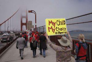 SB277 Golden Gate March